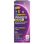 Allegra Children's 12 Hour Allergy Relief 30mg Oral Suspension Berry