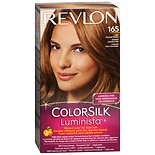 Revlon ColorSilk Luminista Vibrant Color for Dark Hair Light Caramel Brown 165