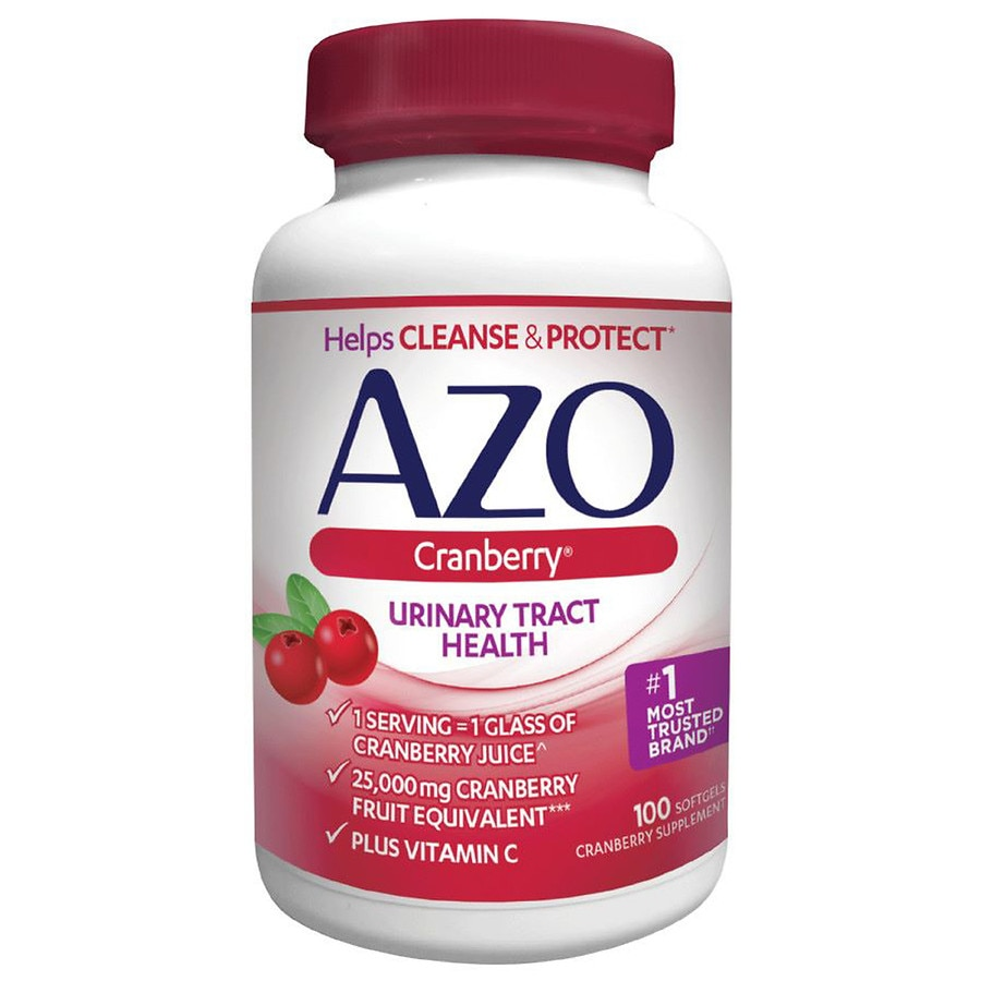 AZOCranberry Urinary Tract Health Dietary Supplement Softgels 100.0ea