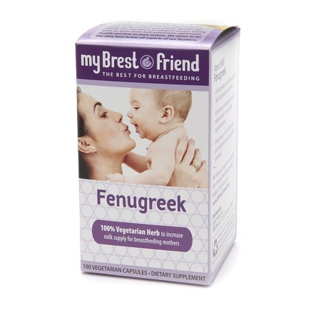 My Brest Friend Fenugreek, Vegetarian Capsules - 100 ea