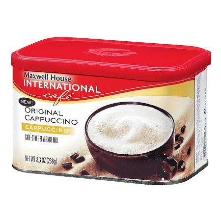 Maxwell House International Cafe Style Beverage Mix Original Cappuccino