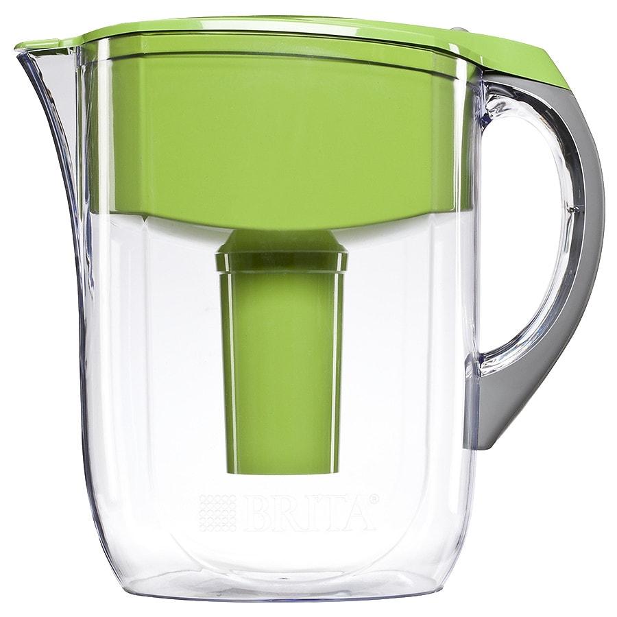 Brita Grand Water Filter Pitcher Green 10 Cup Capacity Walgreens