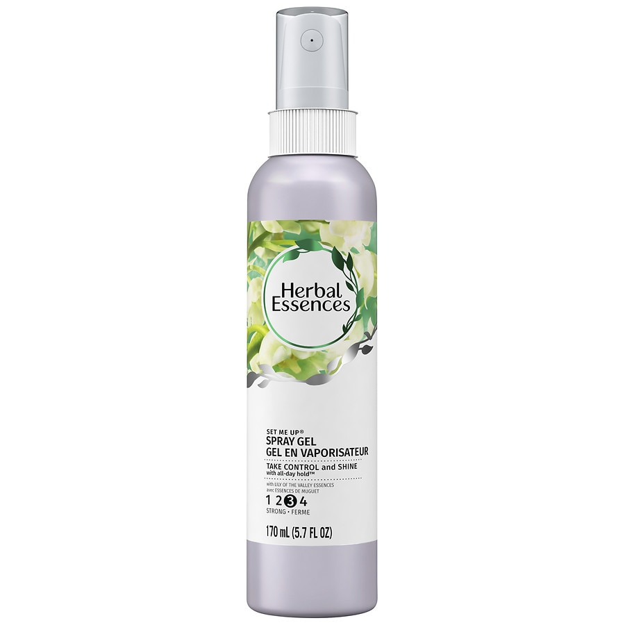 Herbal Essences Set Me Up Spray Hair Gel Lily Of The Valley Walgreens