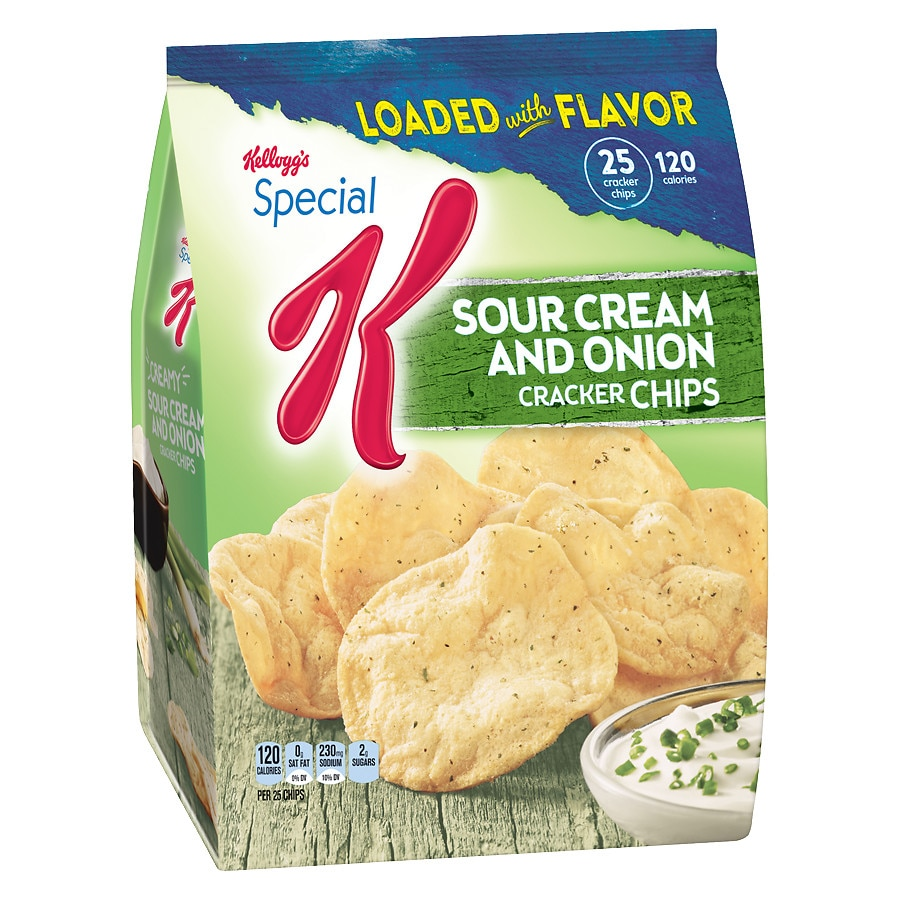 special k cracker chips baked snacks sour cream onion walgreens. Black Bedroom Furniture Sets. Home Design Ideas
