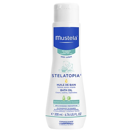 Mustela Stelatopia Bath Oil - 6.7 oz.