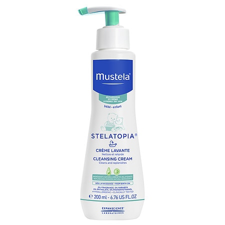 Mustela Stelatopia Cleansing Cream - 6.7 oz.