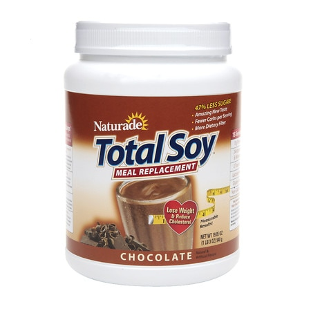 Naturade Total Soy Meal Replacement Protein Powder Chocolate - 19.05 oz.