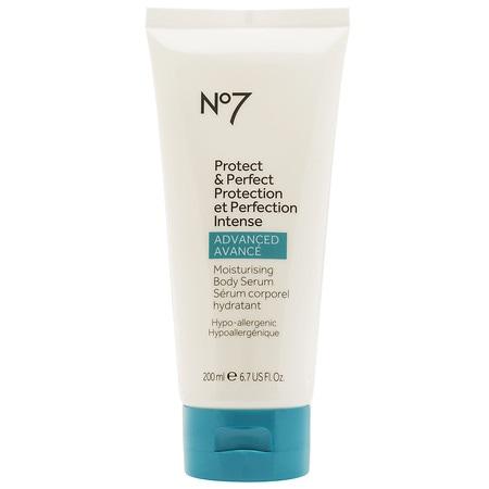 No7 Protect & Perfect Intensive ADVANCED Body Serum - 6.7 oz.