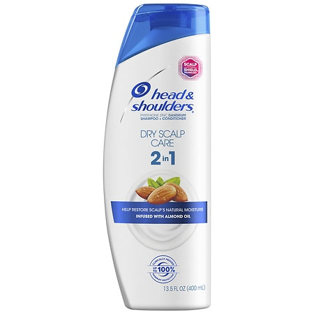 Head & Shoulders Dry Scalp Care with Almond Oil 2 in 1 Dandruff Shampoo & Conditioner