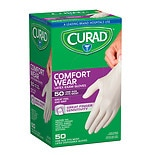 Curad Powder-Free Exam Gloves, Latex Universal