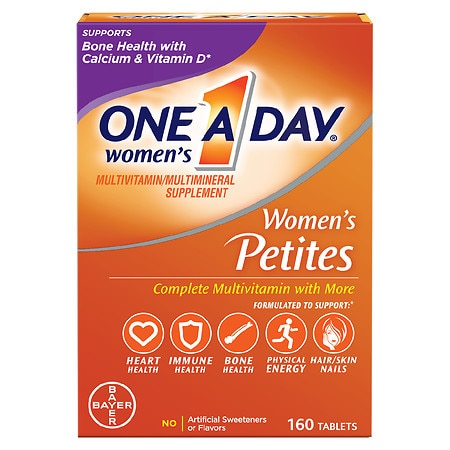 One A Day Women's Petites Multivitamin/Multimineral Supplement Tablet