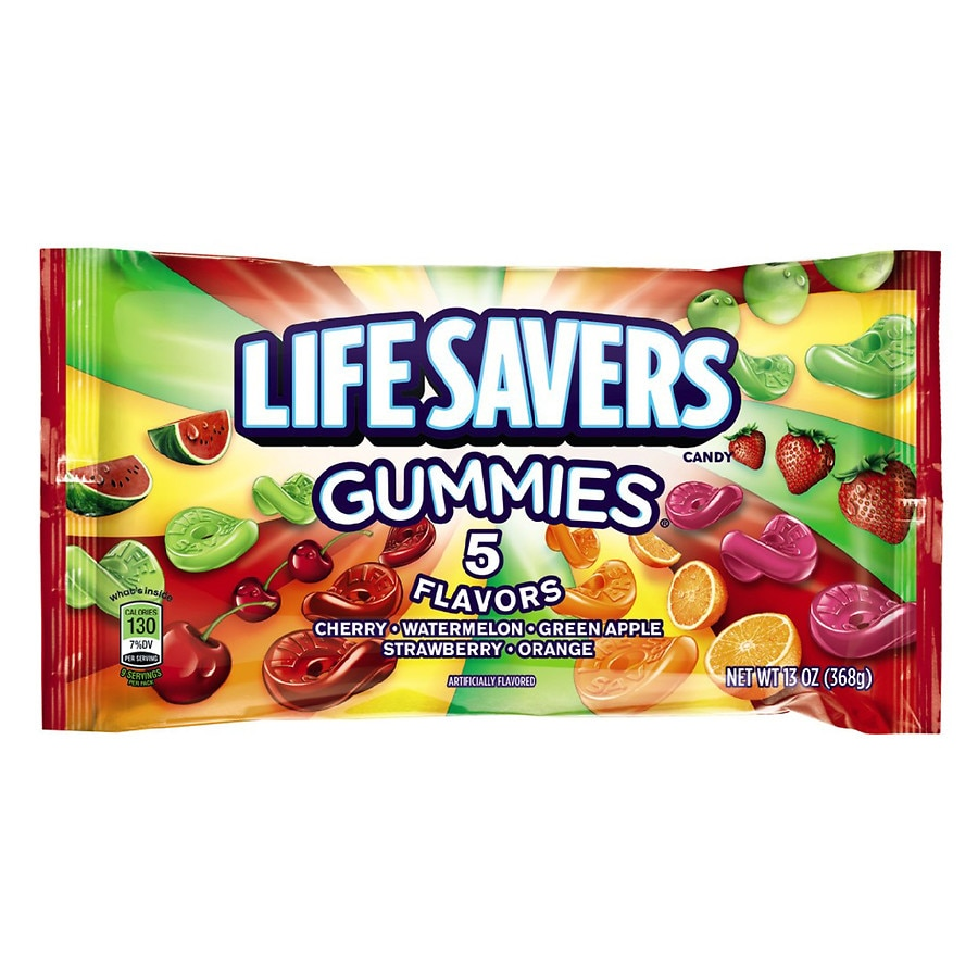lifesavers gummies candy 5 flavors