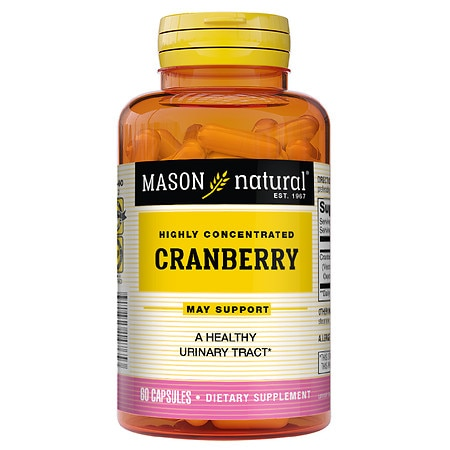 Mason Natural Highly Concentrated Cranberry, Capsules - 60 ea
