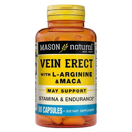 Mason Natural VeinERECT, Capsules - 80 ea