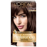 L'Oreal Paris Superior Preference Permanent Hair Color Dark Soft Mahogany Brown 4SM