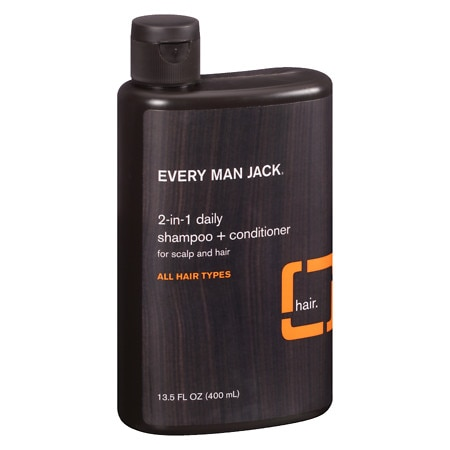 Every Man Jack 2-in-1 Daily Shampoo + Conditioner for Scalp and Hair Citrus