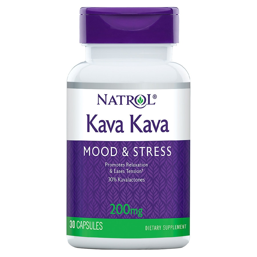 Natrol Kava Kava 200 Mg Dietary Supplement Capsules Walgreens