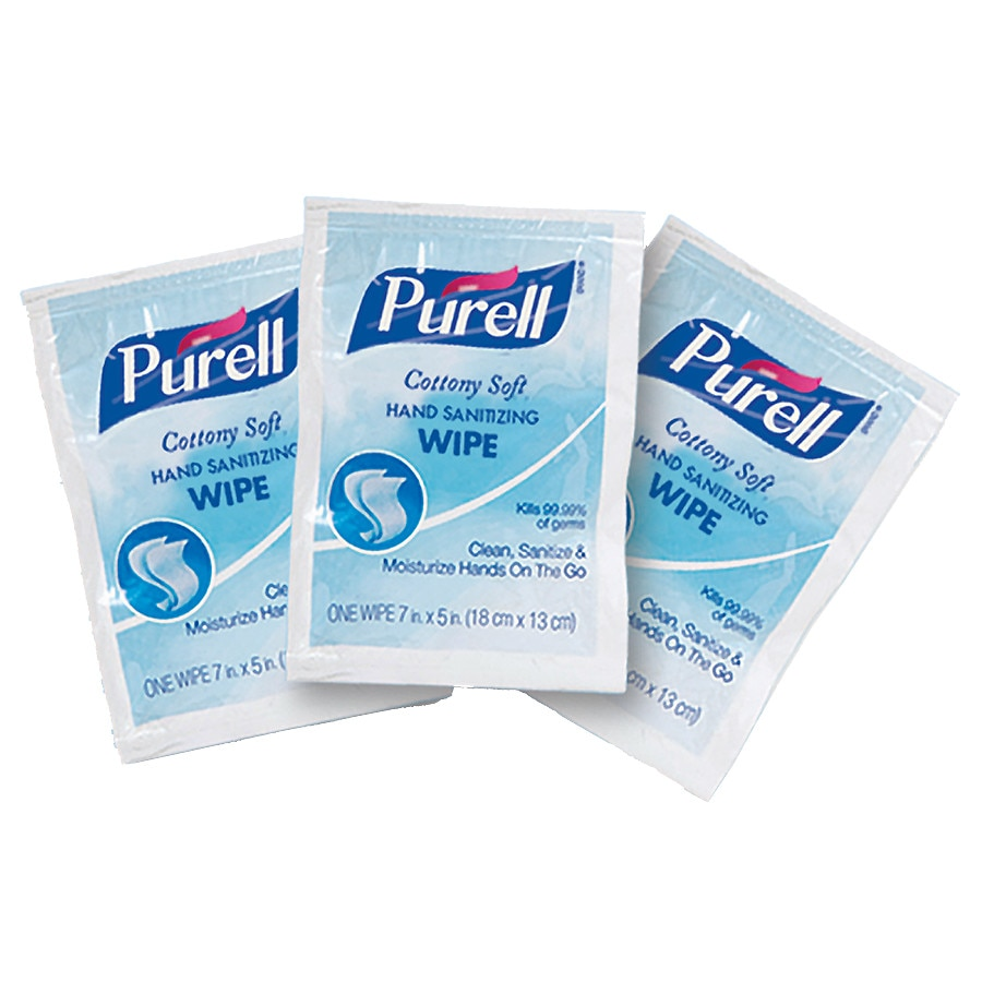purell cottony soft sanitizing wipes walgreens
