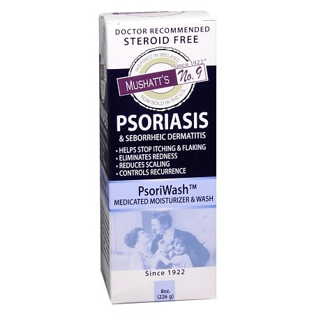 Mushatt's No. 9 Psoriasis PsoriWash Medicated Wash