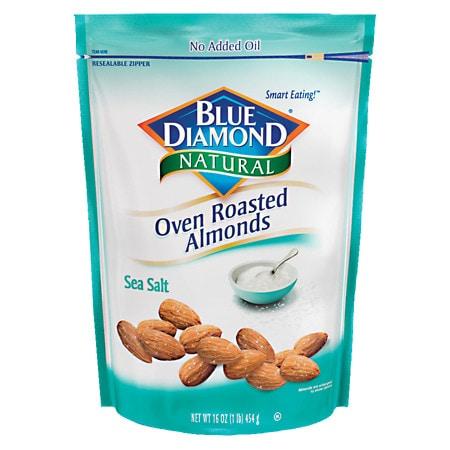 Blue Diamond Natural Oven Roasted Almonds Sea Salt - 14 oz.