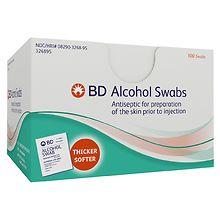 BD Alcohol Swabs   Walgreens