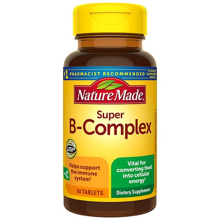 Nature Made Super B-Complex, Tablets - 60 ea