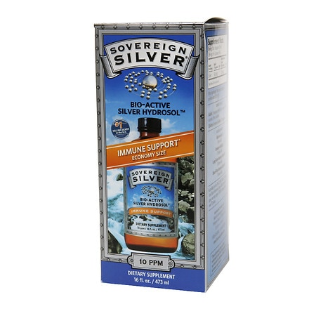 Image of Sovereign Silver Bio-Active Silver Hydrosol, Economy Size - 16 fl oz