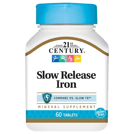 Image of 21st Century Slow Release Iron, Tablets - 60 ea