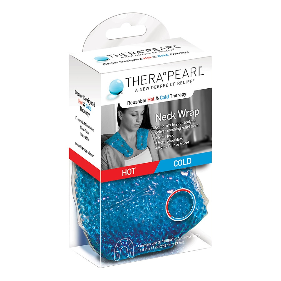 TheraPearl Hot or Cold Therapy Neck Wrap | Walgreens