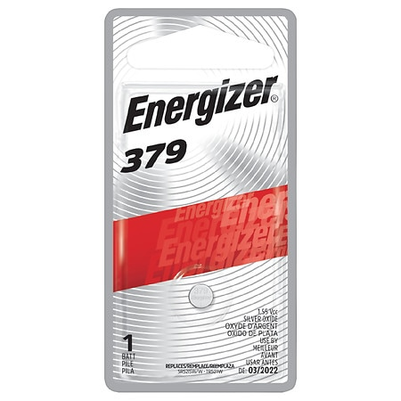 Energizer Watch/Electronic Silver Oxide Battery #379BPZ