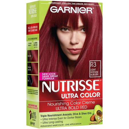 Garnier Nutrisse Ultra Color Permanent Haircolor R3 Light