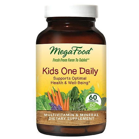 MegaFood Kid's One Daily, Tablets - 60 ea