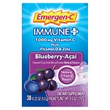 Emergen-C Immune+ System Support Dietary Supplement Fizzy Drink Mix With Vitamin D 30pk