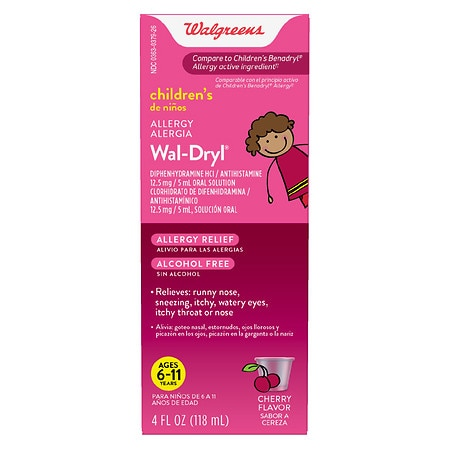 Walgreens Wal-Dryl Children's Allergy Relief, Liquid -
