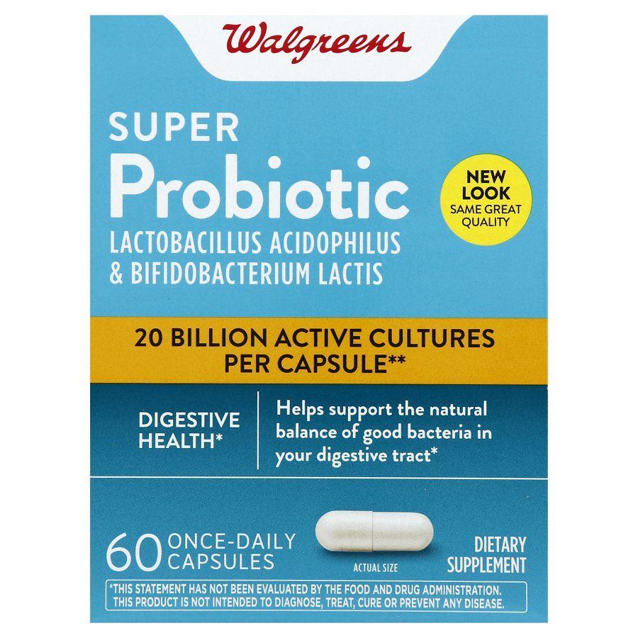 Walgreens Super Probiotic Digestive Support Capsules