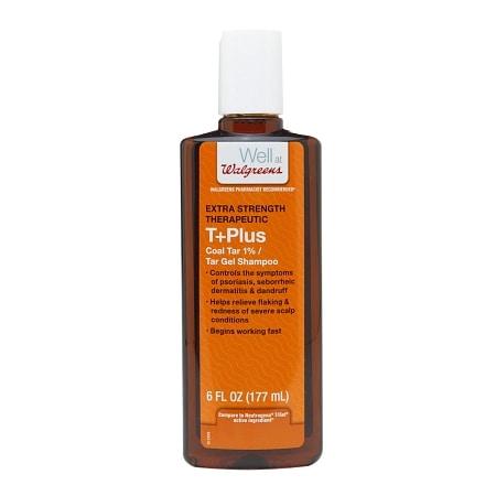 Walgreens T+plus Tar Gel Dandruff Shampoo 6 Oz.