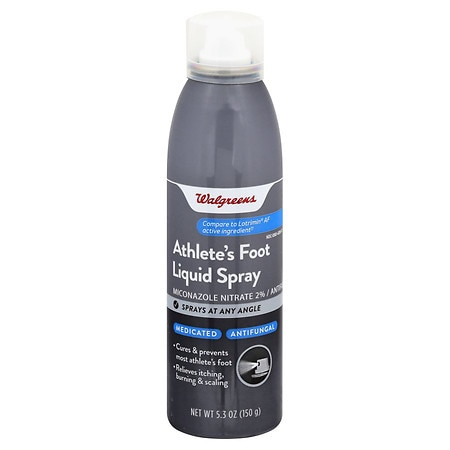 Walgreens Medicated Antifungal Liquid, Miconazole