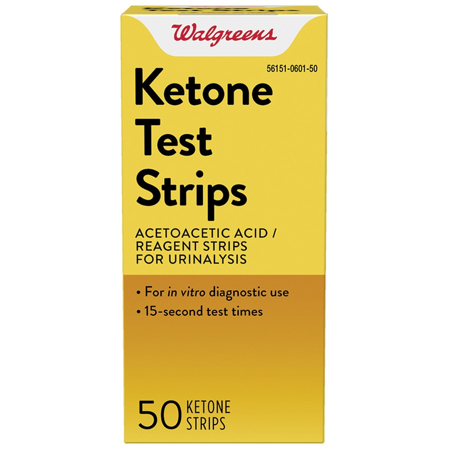 69f20ce6d3 Walgreens Ketone Test Strips for Urinalysis50.0 ea