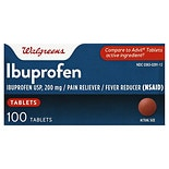 Walgreens Ibuprofen Pain Reliever/ Fever Reducer 200mg Tablets