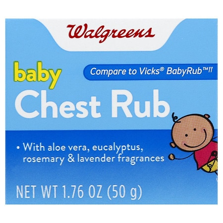 Walgreens Baby Chest Rub Soothing Ointment - 1.76 oz.