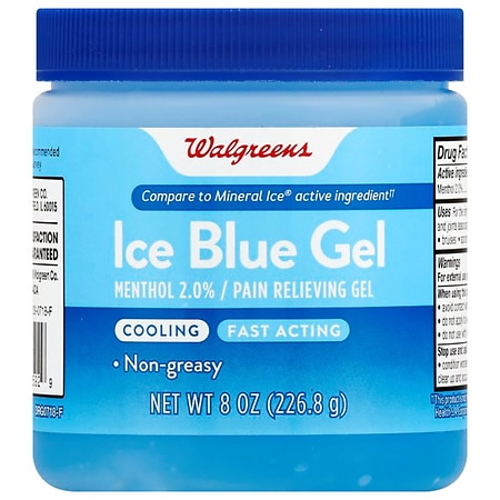 Walgreens Ice Blue Gel - 8 oz.