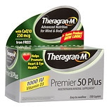 Theragran-M Premier 50 Plus High Potency Multivitamin/ Multimineral Supplement Caplets