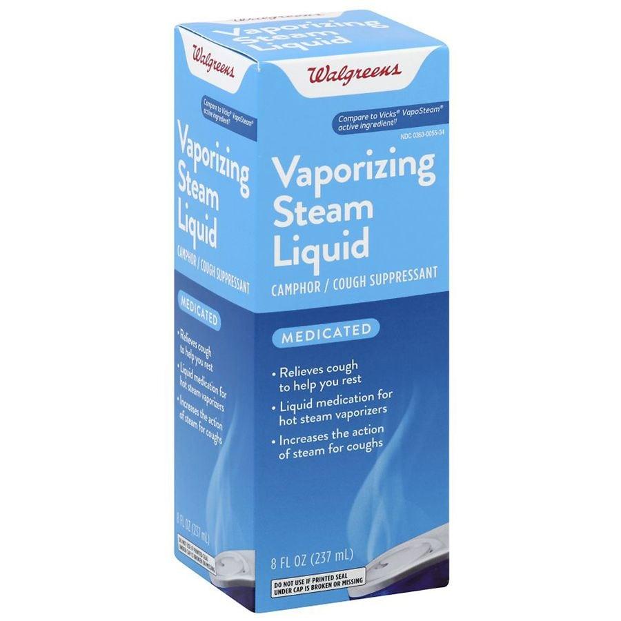 Walgreens Medicated Vaporizing Steam Liquid