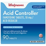Walgreens Walgreens Acid Controller and Acid Reducer Tablets Original Strength