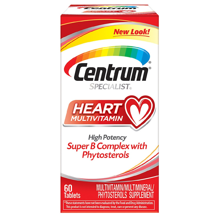 Centrum Specialist Complete Multivitamin Multimineral Supplement Tablet Walgreens