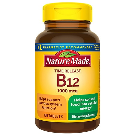 Nature Made Vitamin B-12 1000 mcg Dietary Supplement Tablets