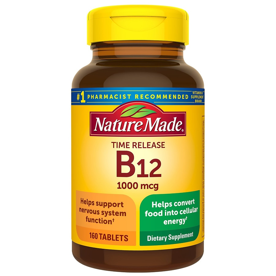 Nature Made B-12 Vitamin 1000 mcg Dietary Supplement