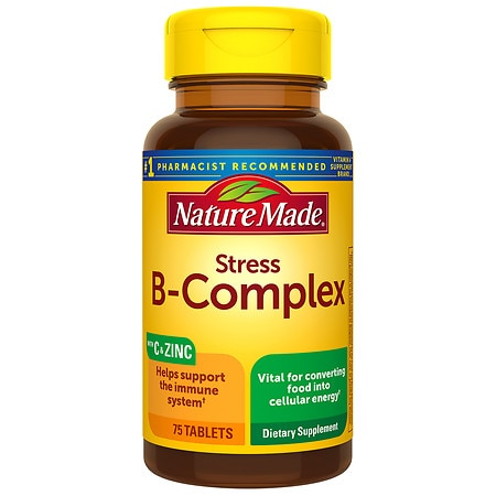 Nature Made Stress B-Complex Dietary Supplement Tablets