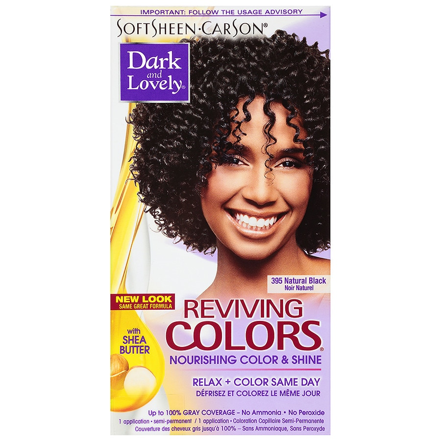 Softsheen Carson Dark And Lovely Reviving Colors Semi Permanent