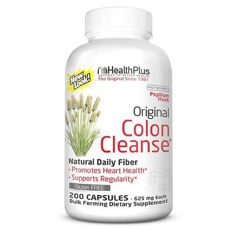 Health Plus Original Colon Cleanse, Capsules - 200 ea